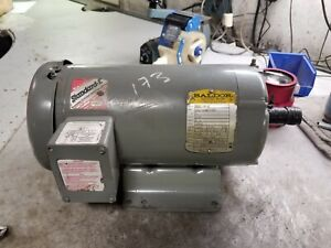 Baldor 3 Hp Electric Ac Motor 575 Vac 1750 Rpm 182t Frame 3 Phase M3611t 5