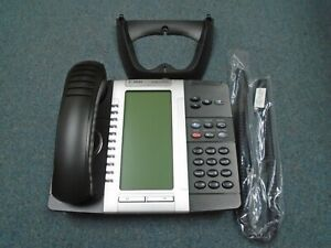 Mitel 50006476 5330e Voip Dual Mode Backlit Lcd Display Voip Ip Poe Telephone b