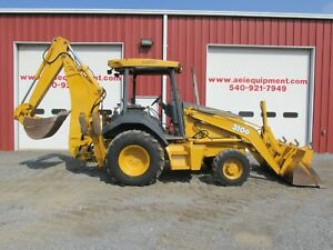 2004 John Deere 310g Loader Backhoe 4x4 3700 Hours Very Nice Ready To Work Look