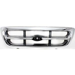 Grille Assembly For 1998 2000 Ford Ranger 2wd