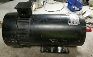 Reliance 1 Hp Electric Dc Motor 180 Vdc 1750 Rpm Fd0056hc Frame 5 8 Dia