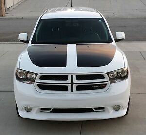 2011 2014 Dodge Durango Dual Hood Stripes Decals Graphics 11 13