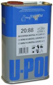 Products 2881 Clear System 2088 2k 4 1 Ratio Acrylic Universal Coat 1 Liter