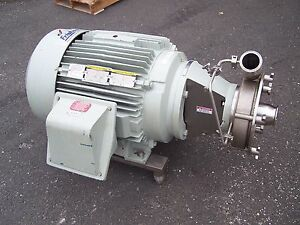 Fristam 3 X 2 1 2 Stainless Steel Sanitary Centrifugal Pump 60 Hp Fpr3552 215