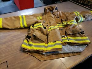 Firefighter Turnout Jacket Coat Length 48 35 Morning Pride