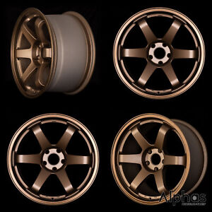 Rota Grid 17x9 5x114 3 42 73 Sport Bronze Set 4
