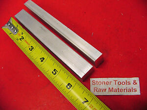 2 Pieces 1 2 X 3 4 Aluminum 6061 Flat Bar 6 Long Solid Extruded Mill Stock