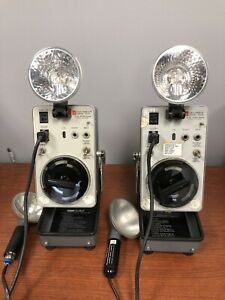 Lot Of 2 General Radio 1538 a Strobotac Extension Lamp only 2 Bulbs Included