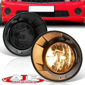 Chrome Driving Bumper Fog Lights Lamps wiring Switch For 2010 2013 Chevy Camaro