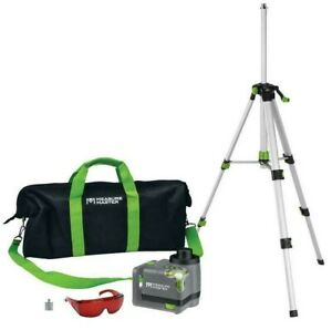 Measure Master Mm r 50ft Horizontal Vertical Rotary Laser Level Kit With Bag