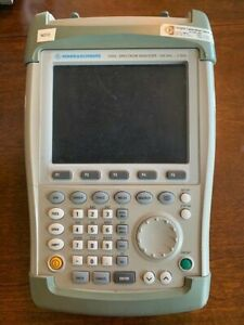 Rohde And Schwarz Fsh3 Spectrum Analyzer 100khz 3ghz Portable calibrated