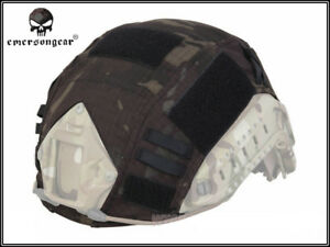 Emerson Tactical Helmet Cover for Ops-Core Fast Ballistic Helmet Military MCBK