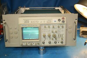 Tektronix 2465a 4 Channel 350 Mhz Oscilloscope Rack Mount