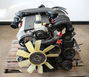 Complete Engine Motor Assembly 1997 Mercedes C280 W202 104k Miles M104 941