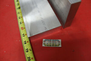 2 Pieces 1 X 4 Aluminum 6061 T6511 Flat Bar 18 Long Solid Extruded Mill Stock