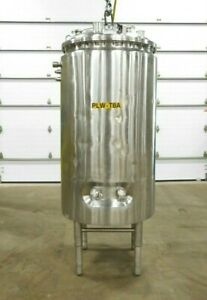 Mo 3296 Dci 1000 Liter Stainless Jacketed Tank 316 Ss