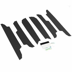 2019 20 Fits Toyota Rav4 6pc Door Threshold Step Shield Pads Scratch Guard Cover