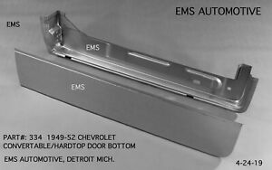 Chevrolet Chevy Hardtop Convertible Door Kit Left 1949 1952 334l Ems