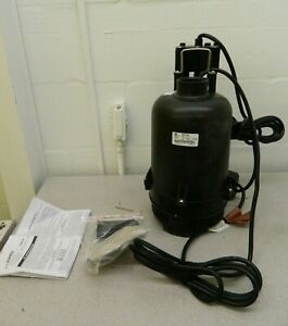 Little Giant Sump Pump 1 3 Hp 115 Amp Rating 115 Volts 507700