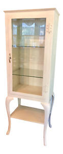 Vintage Metal Medical Cabinet Or Dental Cabinet