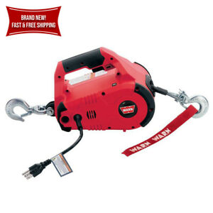 Ac Pullzall Winch Hoist Hand Held Electric Corded Portable Pulling Lifting Tool