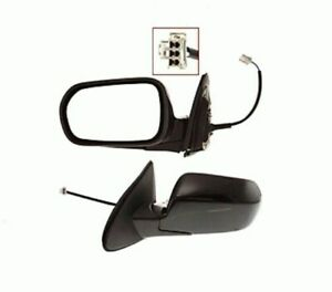 Driver Side Mirror 2002 2003 Acura Rsx Power Non heated Paint To Match