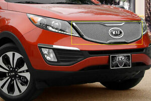Fine Mesh Grille Fits Sx Turbo Trim Only Fits 2011 2013 Kia Sportage Sx
