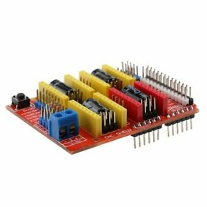 Segolike Cnc Shield Board With Stepper Motor Driver And Heatsink For Arduino V3