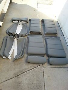 Bmw E30 325i 318i M3 Sport Seat Kit Gray Upholstery Kit New