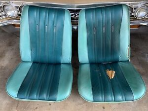 1966 Chevrolet Chevelle Pontiac Gto Lemans Olds Cutlass Bucket Seats