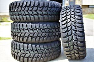 4 New Crosswind M t Lt 30x9 50r15 Load 6 Ply Mt Mud Tires