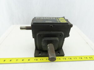Winsmith 920xwts062x0ft Gear Box Speed Reducer 50 1 Ratio 35rpm 1 Output Shaft