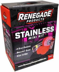 Renegade Products Stainless Polishing Mini Kit Complete