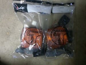 3 Truck Lite Two Sided Amber Tail Turn Signal Light Tmc 466 International Bus