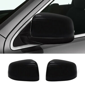 Black Mirror Covers For 2011 2019 2020 Jeep Grand Cherokee And Dodge Durango