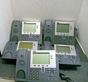 Cisco Systems Ip Phones 7940 Series Home Office Business Electronic Devices X5