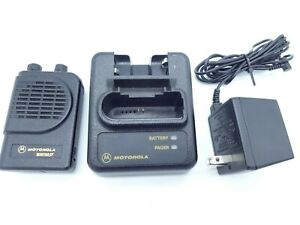 Motorola Minitor Iii 3 Vhf Pager 151 158 9 Mhz With Charger Free Shipping