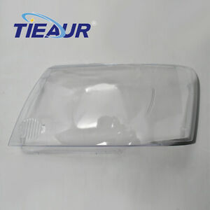 Right left Headlight Clear Lens Cover Shell For Nissan Patrol Y61 2004 2011