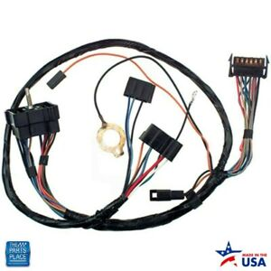 1970 Camaro Dash Instrument Cluster Harness With Warning Lights Ea
