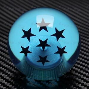 Universal Dragon Ball Z Blue Shift Knob 7 Star For Scion Subaru Wrx Impreza Sti