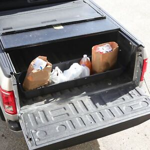 Truck Bed Storage Cargo Organizer Fits Ford F150 F 150 2015 19 Pickup Container