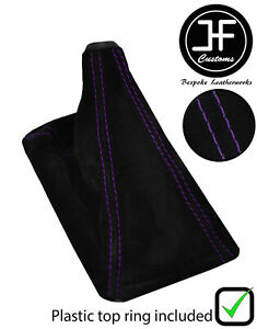 Purple Stitch Suede Shift Boot top Ring For Honda Integra 1994 2001