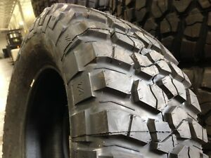 4 New 37 12 50 17 Bfg Km2 Mud Terrain 6 Ply Tires Off Road Ready 37x12 50 17
