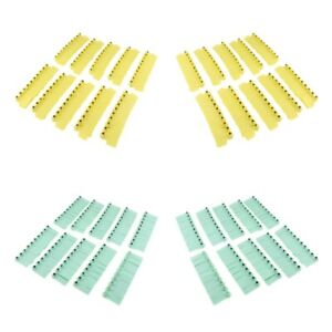 Blank Livestock Ear Tags For Pig Cow Cattle Sheep Premium Tpu Yellow green