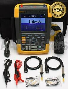Fluke 190 062 Scopemeter 2 Channel 60mhz Handheld Oscilloscope 190 062