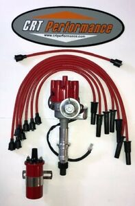 Pontiac 350 389 400 455 Small Red Female Hei Distributor 45k Coil Plug Wires