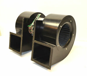 Mclean 12 776825 00 B Dual Air cooling Squirrel cage Exhaust Blower Fan 1 2 hp