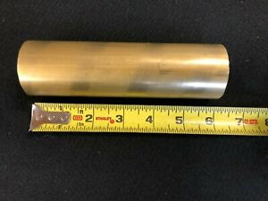 1 3 4 1 75 Round Brass Rod bar 6 00 Long Lathe Or Milling Stock