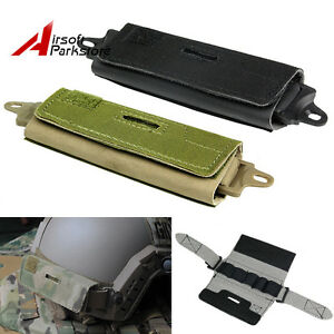 Tactical Combat Ops Core Fast Rear Counterweight Helmet Accessory Pouch Bag