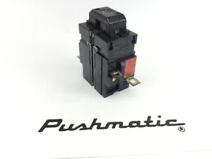 Ite Bulldog 31250 Pushmatic Circuit Breaker 50a 2 Pole 240v